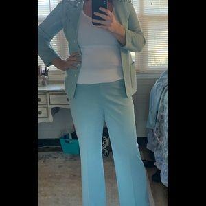 Vintage baby blue pantsuit